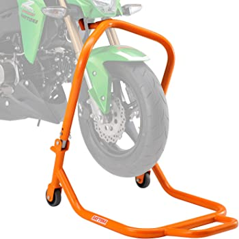 デイトナ バイク用 フロントスタンド 高さ7段階調整 付属ピン6サイズ 耐荷重200kg フロントステムアップスタンド 98618