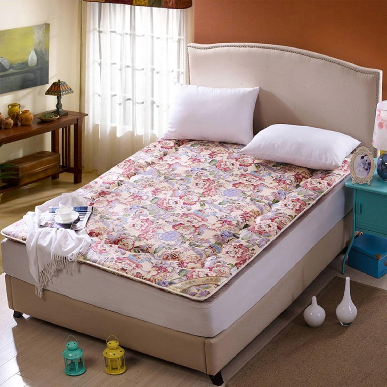 Full cotton padded mattress mattress student dormitory mattresses double matt mat-D 90x190cm(35x75inch)