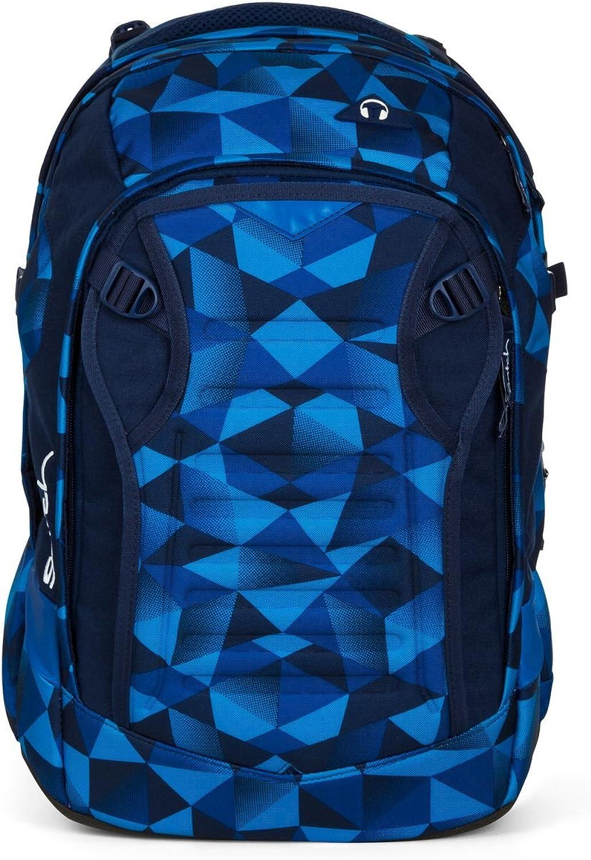 Satch Schulrucksack-Set 4-TLG Match Blau Crush blau blau blau B07752H288 | Verschiedene Stile und Stile  880dc7