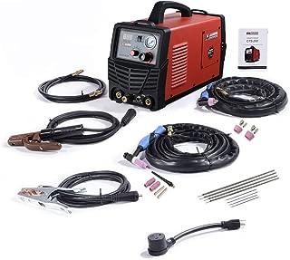CTS-200, 50A Plasma Cutter, 200A TIG-Torch & Stick Arc Welder, 3-in-1 Combo Cutting & Welding Machine