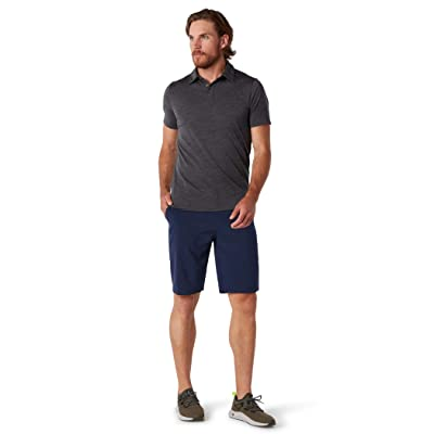 Smartwool Merino 150 Polo (Iron Heather) Men