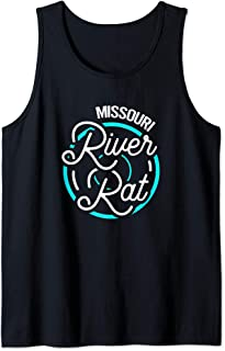 Missouri River Rat Funny Float Trip Tank Top