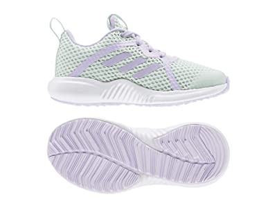 adidas Kids Fortarun X Summer. RDY (Little Kid/Big Kid) (Dash Green/Purple Tint/White) Kid