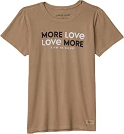 More Love More Crusher Tee