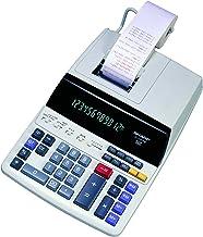 $40 » Sharp EL-1197PIII Heavy Duty Color Printing Calculator with Clock and Calendar (Renewed)