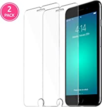 SMPL. Glass Screen Protector for Apple iPhone 7 and iPhone 8, Tempered Glass Film, 2-Pack