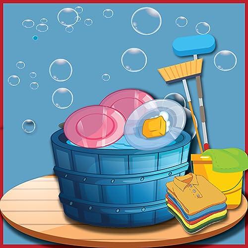 juegos de limpieza para niñas: limpieza de la casa del bebé