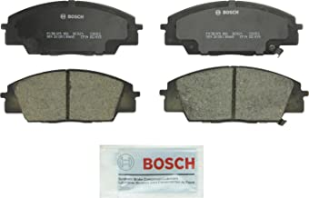 Bosch BC829 QuietCast Premium Ceramic Disc Brake Pad Set For Acura: 2007-2010 CSX, 2002-2006 RSX; Honda: 2006-2011 Civic, 2000-2009 S2000; Front