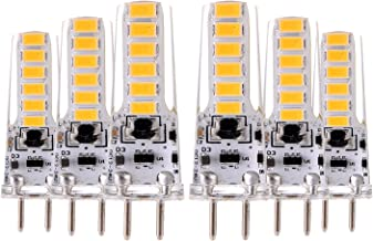 Led bulbs, YWXLIGHT, GY6.35 4W 12LED 5730SMD 300-400LM Warm White Cool White LED Bi-pin Lights Decorative DC 12V AC 12V DC...