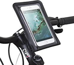 Satechi Pro RideMate Bike Mount - Compatible with iPhone 6/5S/5C/5, HTC EVO, HTC Inspire 4G, HTC Sensation, Samsung Galaxy S4, S5, S6, S6 Edge and More (Waterproof Black 900 Series)