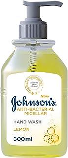 Johnson's Hand Wash, Anti-Bacterial Micellar, Lemon, 300 ml