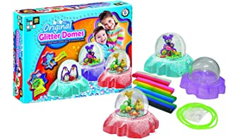 AMAV Toys DIY Originals Glitter Domes - Make Your Own Underwater Seascapes Snow Globe Kit - Increases Creativity Imagination & Motor Skills - Perfect Christmac Present for Kids Aged 6+