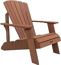 Lifetime Faux Wood Adirondack Chair, Brown - 60064