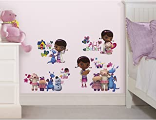 """Joy Toy 22800 """"Doc McStuffins"""" 4 Sheets Wall Decals Sticker in Blister Pack"""