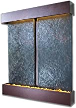 Water Wonders Nojoqui Falls Wall Fountain Color: Copper Vein, Size: Double