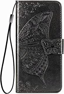 RanTuo Phone Case for Honor X10 Max 5G, with Card Slots, Bracket, TPU + PU Leather, Flip Case Cover for Honor X10 Max 5G.(...