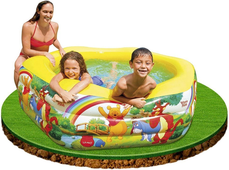 el más barato Disney Deluxe Pool Winnie The Pooh 191cm x 178cm 178cm 178cm x 61cm 57494NP by Intex  saludable