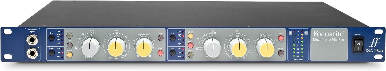 Focusrite ISA Classic Dedication Dual Mono Manufacturer regenerated product Microphone Pre Transformer-Based