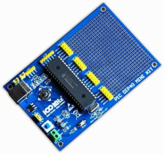 FidgetKute Logifind PIC Development Board for DIP40 PICs,PIC18F4550 USB Demo Board Show One Size