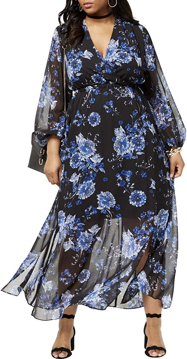 I.N.C. International Concepts Women's Max Plus Floral-Print OFFicial mail order Size Inexpensive
