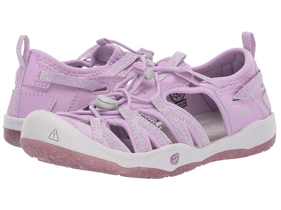 Keen Kids Moxie Sandal (Little Kid/Big Kid) (Lupine/Vapor) Girls Shoes