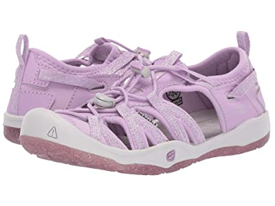 Keen Kids Moxie Sandal (Little Kid/Big Kid) (Lupine/Vapor) Girls Shoes