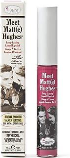 Thebalm Meet Matte Hughes Long Lasting Liquid Lipstick - Chivalrous, 0.25 oz, Medium Beige 155- R370