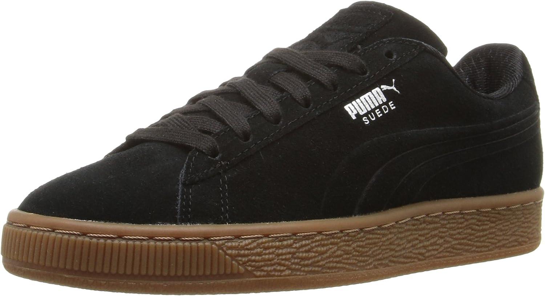 PUMA Men's Suede Classic Debossed Fashion Sneaker