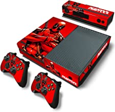 ZOOMHITSKINS X1 Console Skin Decal Sticker Deadpool + 2 Controller & Kinect Skins Set …
