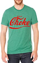 Men's Red Enjoy A Choke Green Tri Blend T-Shirt C2