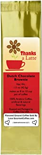 Say Thanks-a-Latte and Give a Dutch Chocolate Brownie Flavored Ground Gourmet Coffee Thank You Gift