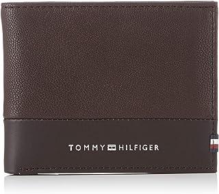 Tommy Hilfiger Textured Mini CC Wallet, Brown, AM0AM05645