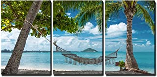 wall26 Tropical Paradise Hammock - Canvas Art Wall Decor - 16
