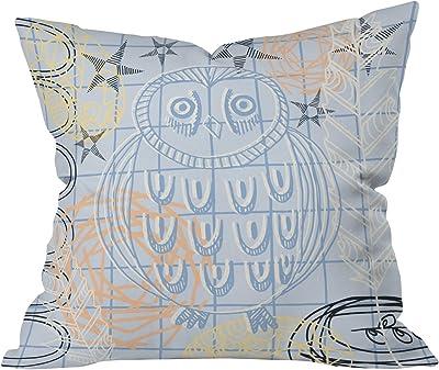 50 x 60 Deny Designs Kerrie Satava Owls Nest Fleece Throw Blanket