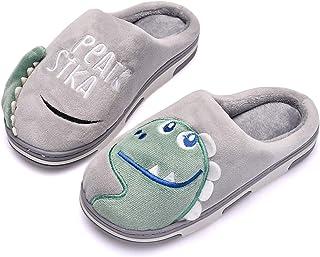 Zapatillas de Estar por Casa para Niños Niñas Pantuflas Invierno Casa Caliente Peluche de Zapatilla Slipper Interior