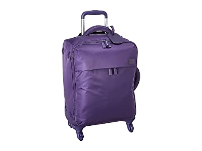 Lipault Paris Original Plume Spinner 55/20 Carry-On (Light Plum) Carry on Luggage