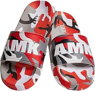 AMK Bath Slippers - Soldier Slides red camo - 40