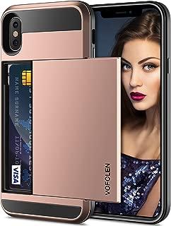 Rose Gold Vofolen Bling Funda para iPhone XR Funda iPhone X
