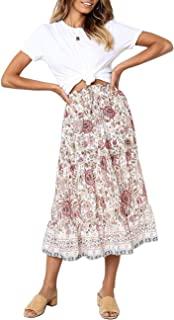MEROKEETY Women's Sleeveless Striped Casual Swing T Shirt Dress with Pockets