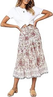 Best cotton skirts midi Reviews