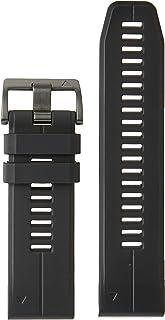 Garmin Vervangende riem QuickFit 26 horlogebanden, zwart siliconen