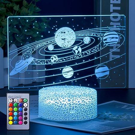 3D Illusion Dekolicht mit USB Anschlu/ß Akkordeon 21x15cm inkl.Sockel 7 verschiedene Farben w/ählbar Auswahl aus 81 verschiedenen Motiven 3D Lampe 3D Leuchte 3D LED Stimmungslicht