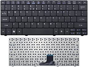New Laptop Keyboard Replacement for Acer Aspire One 1410 1410T 1420 1420P 1430 1430Z 1810 1810T 1810TZ 1820P 1820PT 1820PTZ 1825PT 1825PTZ 1830 1830T 1830TZ Series, US Layout Black Color