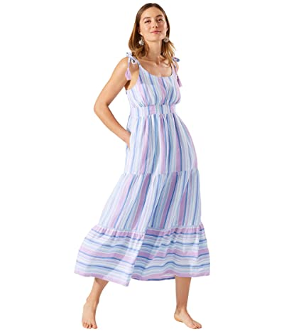 Tommy Bahama St. Lucia Tiered Maxi Dress Cover-Up