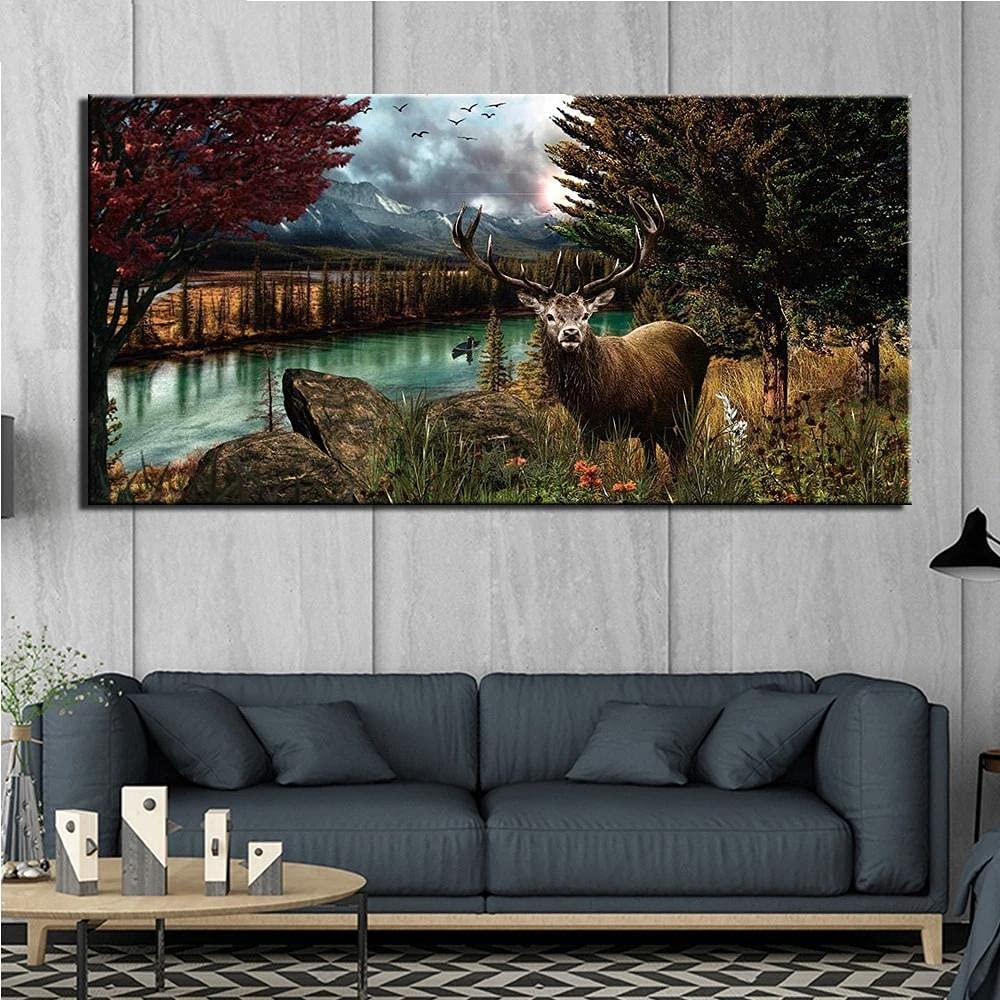 5D Diamond Painting Kits for Adults Large Forest D At the supreme price of surprise Full DIY Deer