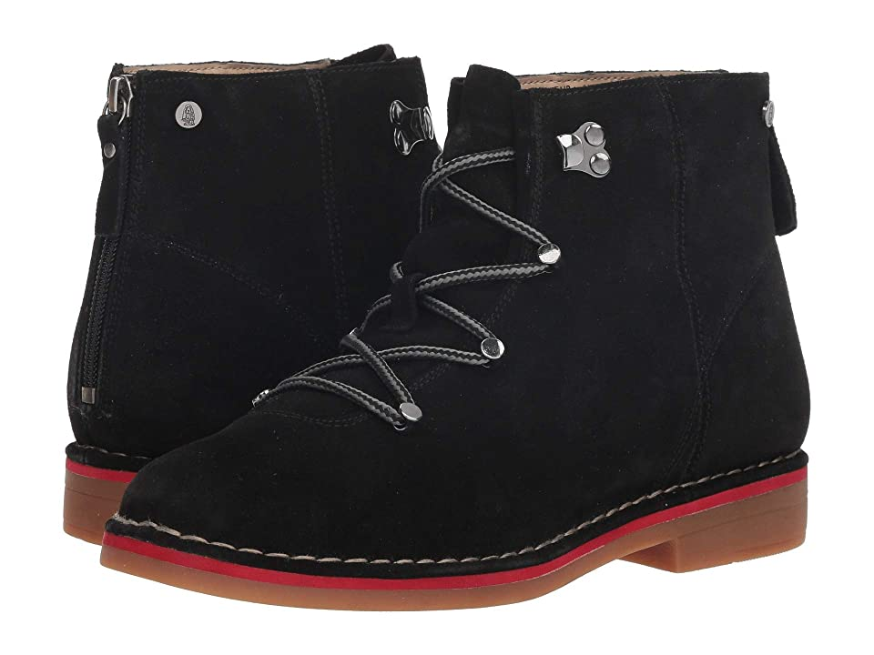 Hush Puppies Catelyn Hiker Boot (Black Suede) Women
