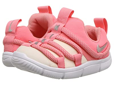 Nike Kids Novice (Infant/Toddler) (Pink Gaze/Metallic Silver/Guava Ice) Girls Shoes