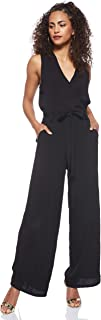 ONLY women's Nova Jumpsuit Overalls in Black, Size: 36 EU (Manufacturer Size:Small)