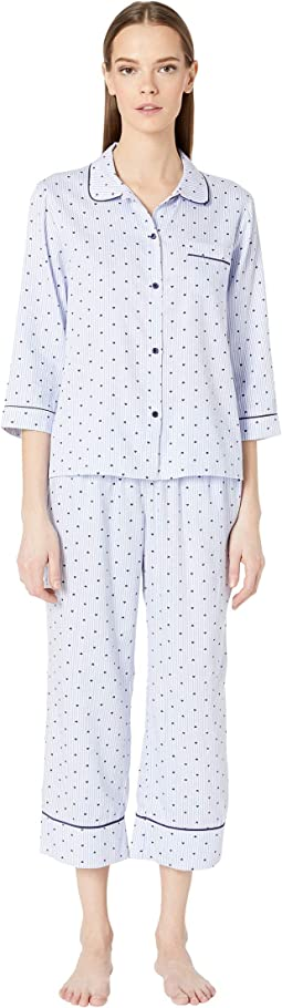 Sateen Long Pajama Set