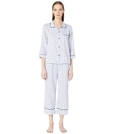 Kate Spade New York Sateen Long Pajama Set (Mini Heart) Women